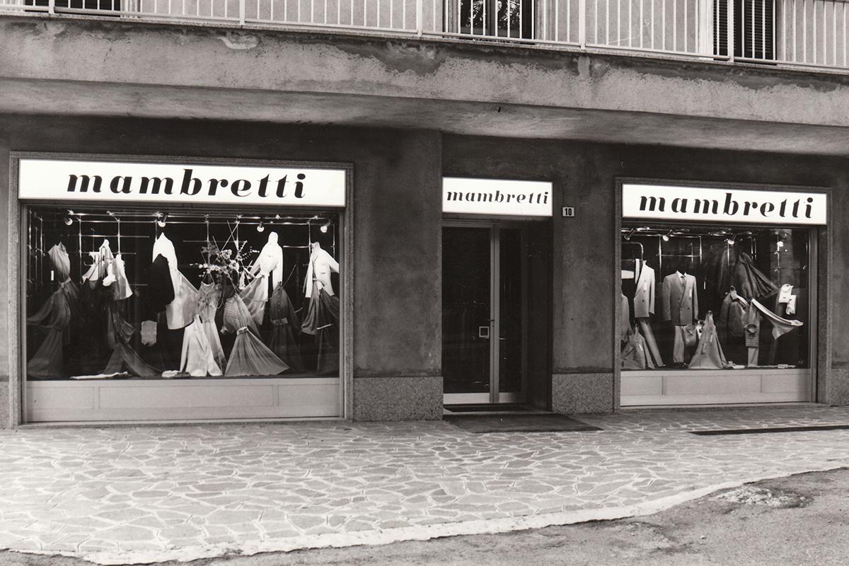 mambretti centro moda storia